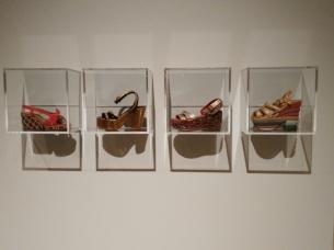 Zapatos de la época de Tamara de Lempicka